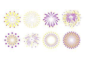 Vetores grátis da estrela Fireworks