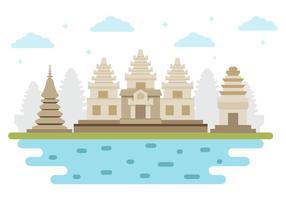 Vector de marco cambojano livre