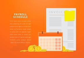 Business Payroll com texto editável