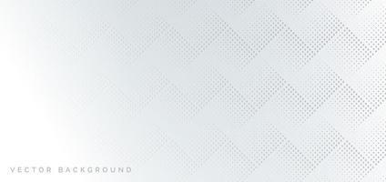 padrão de meio-tom abstrato cinza em fundo branco vetor
