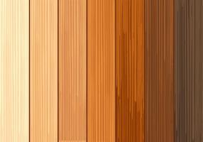 Coleções de textura de madeira vetor