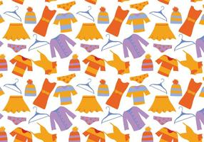 Vetores de padrões de roupas grátis
