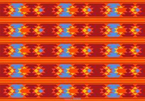 bonito padrão de estilo dayak vetor