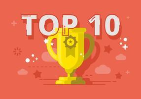 Top 10 Ilustração vetor