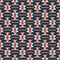 padrão sem emenda colorido asteca