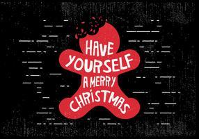 vetor de gengibre de Natal grátis