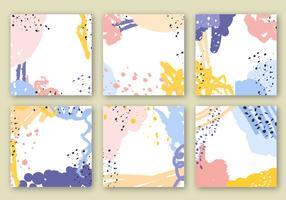 Vector de fundos abstratos coloridos e coloridos