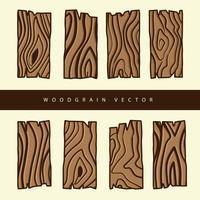Vetor de madeira