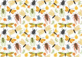 Vetores de padrões naturais gratuitos