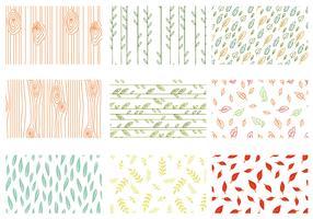 Vetores Free Nature Patterns