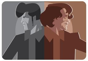 Vetor de ilustração de James Brown