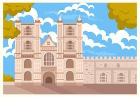 Paisagem da Abadia de Westminster vetor
