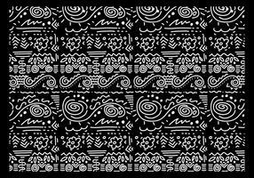 squiggle vetor preto e branco