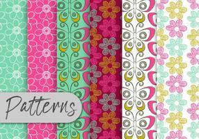 Buterfly Pattern Set vetor