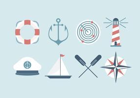 Ícones grátis do vetor da marinha