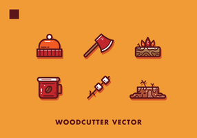 Free Woodcutter Items Vector