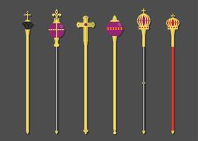 vetor sceptres reais