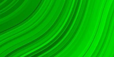 layout verde claro com curvas.