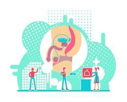 saúde do sistema reprodutivo masculino vetor