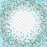 Quadro colorido abstrato de Stardust vetor