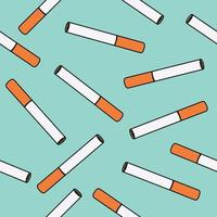 padrão sem emenda de cigarros