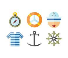 Livre vetores de marinheiros exclusivos
