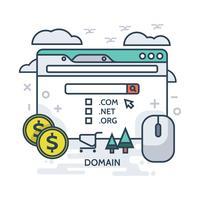 Ilustração do domínio vetor