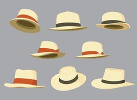 Vetor do chapéu do Panamá