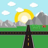 Road Road Vector