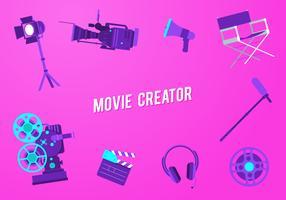 vetor de criador de filmes grátis
