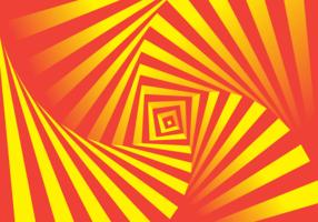 Ilusão de hipnose vetor