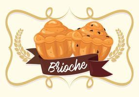 brioche background illustration vector