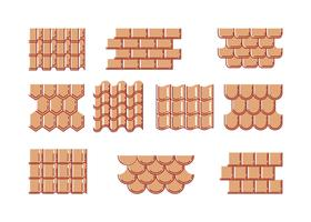 Vector de coleção de azulejos grátis