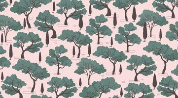 Padrão Gum Tree Vector
