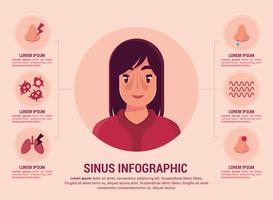 Infografia Sinusal vetor