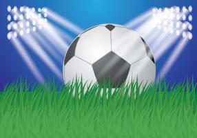 Vector do terreno de futebol