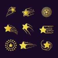 vetor de poeira estelar