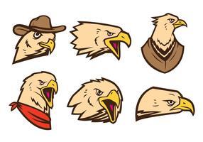 Vector grátis do logotipo de Eagles