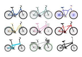 Vector livre de bicicletas