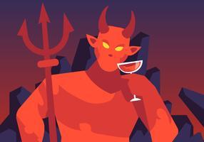 Lucifer E Os Tronos vetor