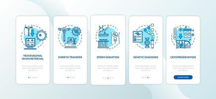 tela de página de aplicativo móvel de integração de reprodução vetor
