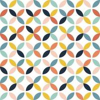 padrão floral colorido abstrato
