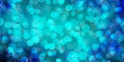 padrão azul escuro com esferas. vetor