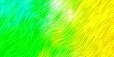 fundo verde com linhas dobradas. vetor