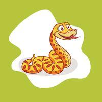Vetor livre anaconda serpente