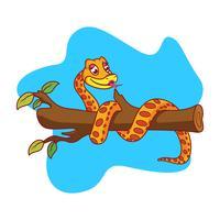 anaconda de serpente de vetor