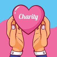 Ilustração do dia da caridade vetor