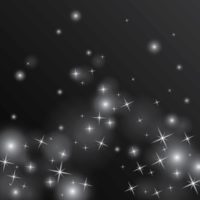 ilustração da poeira estelar vetor