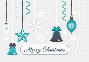 Elementos de design de Natal grátis para vetores