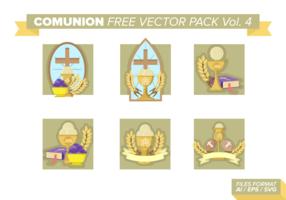 pacote vetorial livre de comunhão vol. 4 vetor
